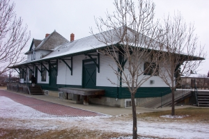 Canadian Northern Railway Station Provincial Historic Resource