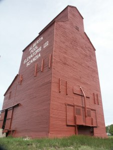 Alberta Wheat Pool Grain Elevator, Scandia