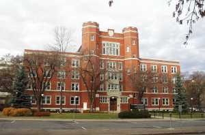 Old St. Stephen's College, home to the Historic Resources Management Branch