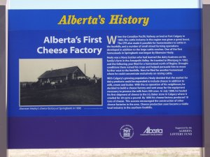Alberta's First Cheese Factory