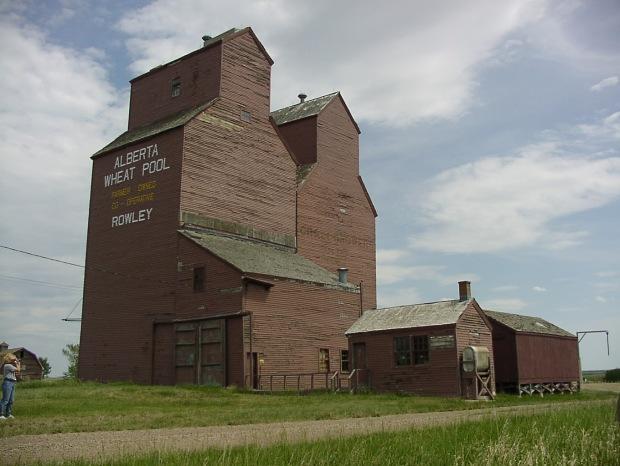 Rowley Grain Elevator Row