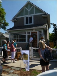 A house participating in Century Homes Calgary