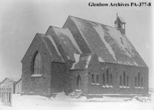 St. Luke's Anglican Church, ca. 1906 (prior to the construction of the tower) PA-377-8, Glenbow Archives