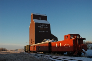 Alberta Wheat Pool Grain Elevator (DSC_5353 Historic Resources Management Branch).