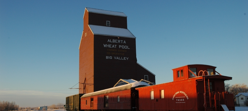 Alberta's Wooden Country Grain Elevators – Update