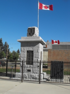 Cenotaph, Wheatland County