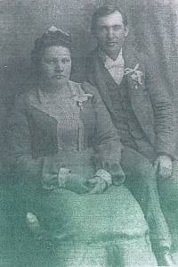 David Arthur and Julia Marie Adams, 1902, Photograph courtesy of the Adams family