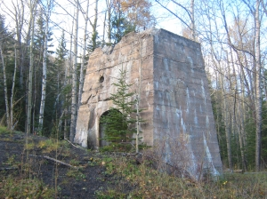 Brule Mine Landscape, Brule (Evaluated as part of the the Yellowhead County Municipal Heritage inventory project).