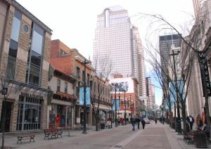 Stephen Avenue - where the historic meets modern.