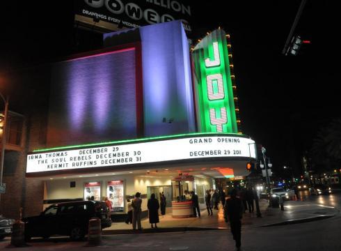 Joy Theatre, Upper Canal Street, New Orleans
