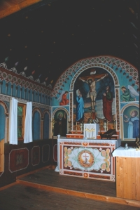 St. Charles Mission, Church, Interior
