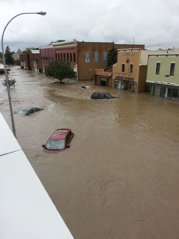 Downtown High River - June 21, 2013