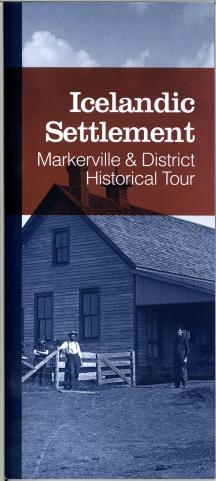 cover of the Markerville & District Historical Tour booklet