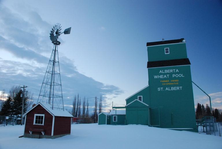 Alberta Wheat Pool Grain Elevator, St. Albert