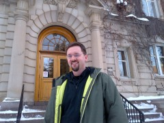 Matthew Francis, Manager, Municipal Heritage Services.