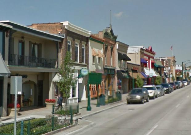 Main Street Rochester, MI. © Google Streetview