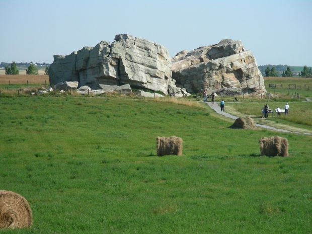 Okotoks Big Rock Erratic