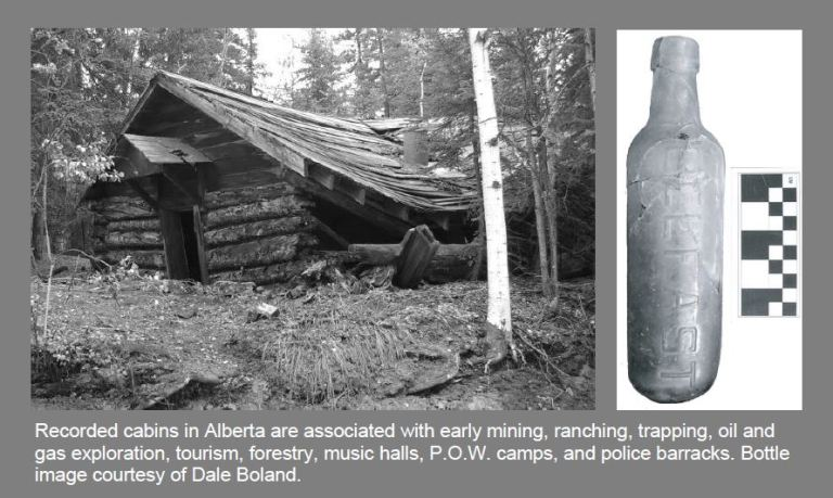 Cabin and bottle
