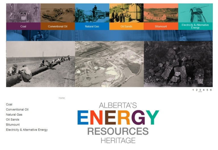 Energy Resources Website Homepage