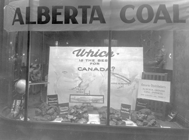 An Alberta coal company advertises in Ontario, n.d. Source: Provincial Archives of Alberta, A3975