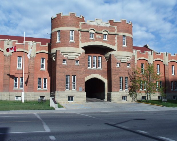 Mewata Armoury Provincial Historic Resource, Calgary. (Alberta Culture, Historic Resources Management Branch, 2000).