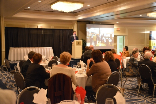 The 2014 Alberta Historical Resources Foundation Heritage Awards ceremony in Red Deer, Alberta.