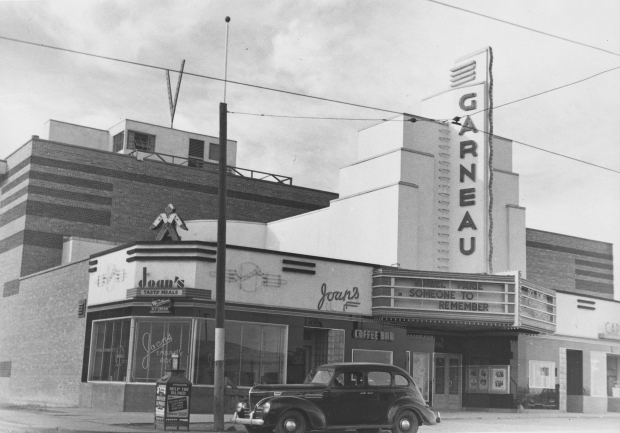 The Garneau Theatre, Edmonton, 1943 (Provincial Archives of Alberta, A6885).