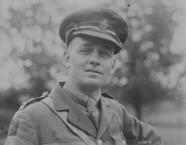 G. B. McKean, 1918 (Credit: Canada Dept. of National Defence/Library and Archives Canada).