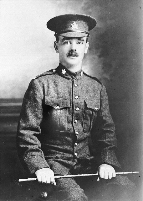 J. G. Pattison c. 1914-1919 (Credit: Canada Dept. of National Defence/Library and Archives Canada).