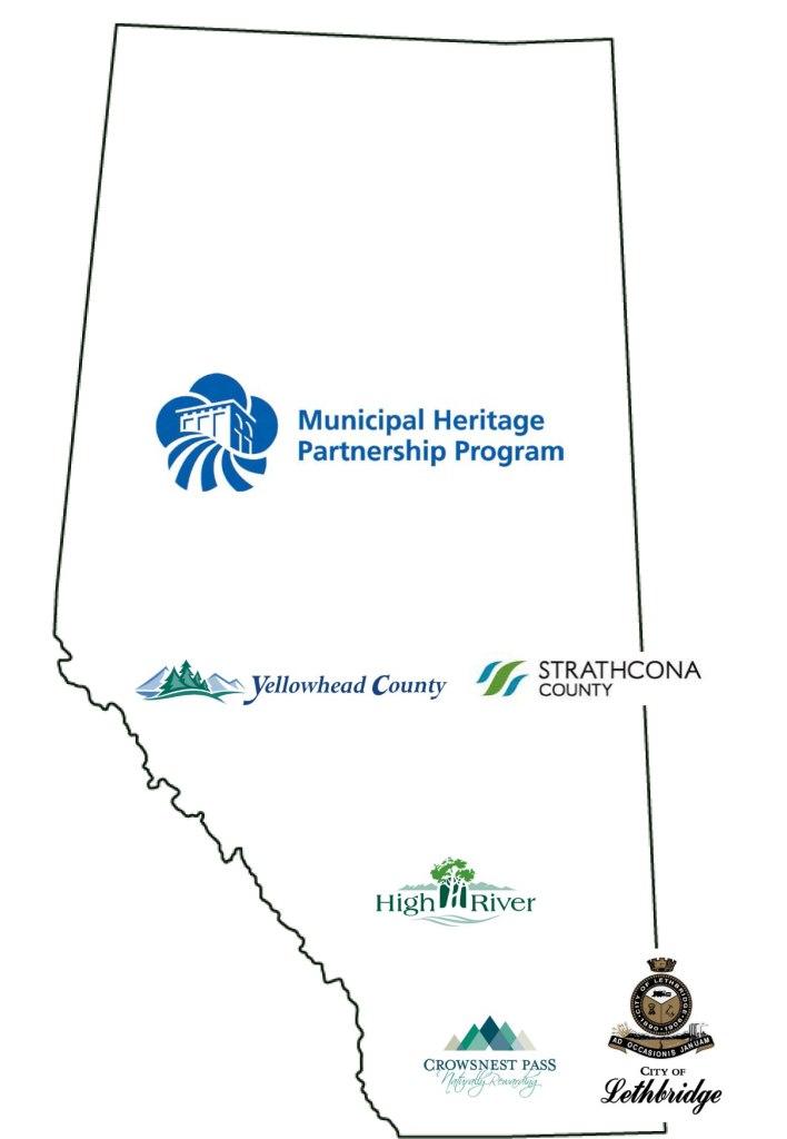 Municipal Heritage Partnership Program grants were awarded to five communities across Alberta.