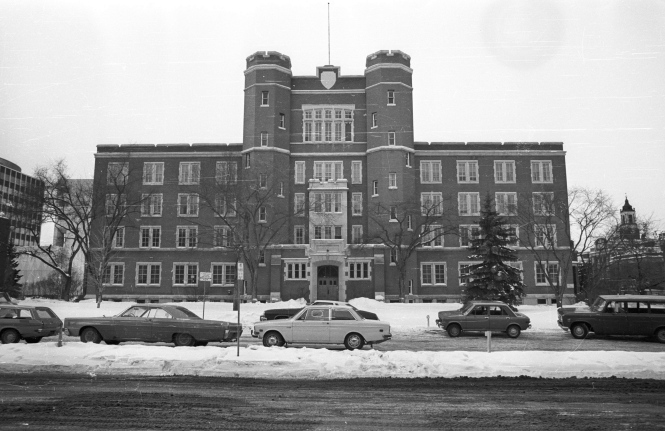Old St. Stephen's College, 1974 (Historic Resources Management Branch, 70-R30L-01-M).