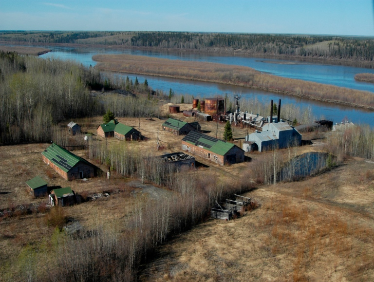 Bitumount Site Provincial Historic Resource, near Fort McMurray  (Historic Resources Management Branch, July 2005).