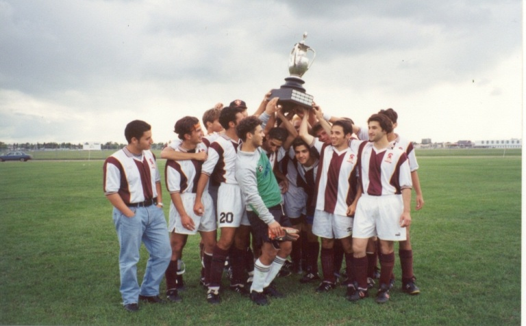 Archbishop O'Leary High School, Winners of the Rutherford Cup, 1994. Source: Alberta Culture and Tourism.