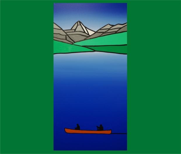 Figure 1. Jason Carter canoe with border