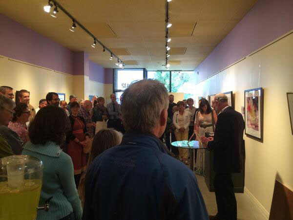 The 2014 Heritage Art Series public gallery event.