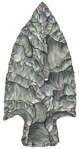 Figure 7. Projectile point