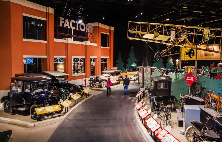 One of the galleries at the Reynolds-Alberta Museum. Photo Credit: Norquay.