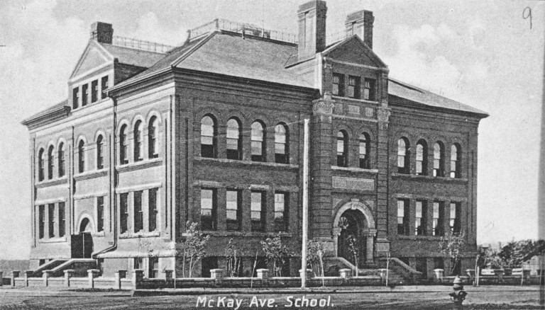 McKay Avenue School circa 1913, Edmonton (photo courtesy of Provincial Archives of Alberta)