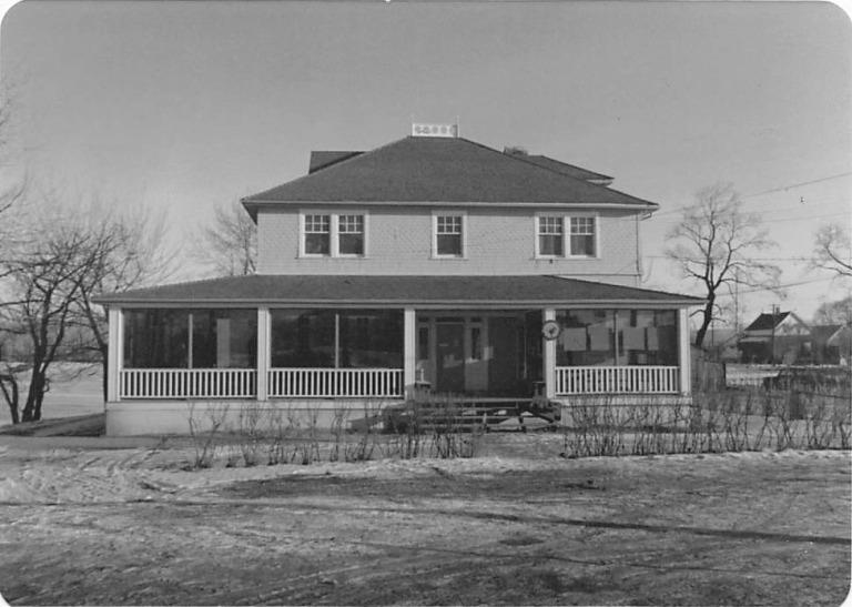 Deane House, Calgary, 1977,