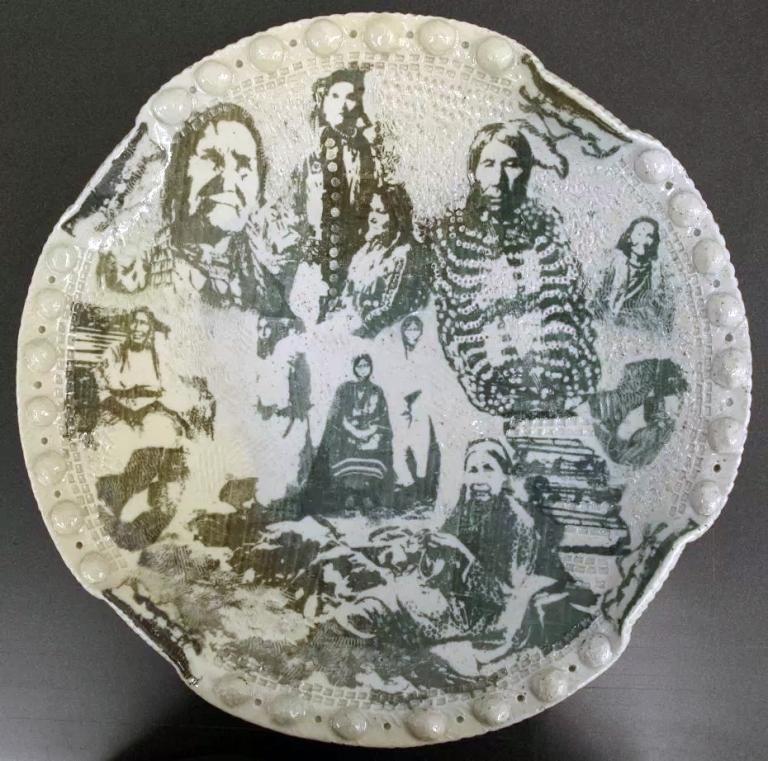 Ceramic vessel by Brenda Danbrook.