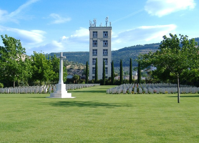 Caserta War Cemetery, Photograph courtesy of the Commonwealth War Graves Commission
