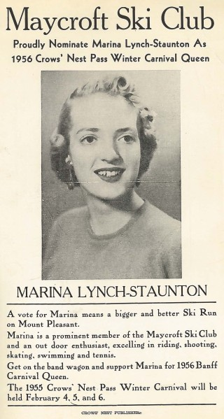 That Marina! She's got Bette Davis eyes.