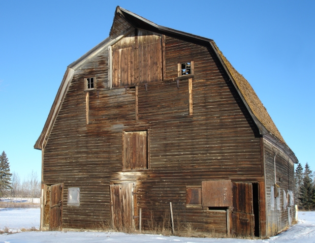 Walter Barn (taken by author, January 2009).