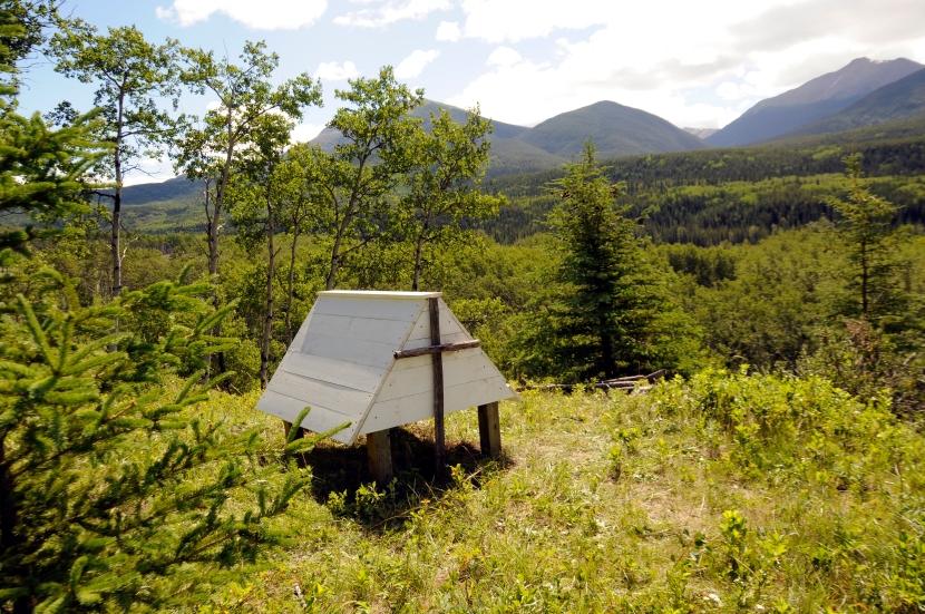 Spirit Houses in Willmore WildernessPark