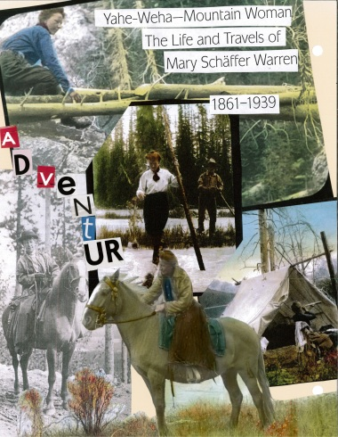 Mary Schäffer Warren scrapbook pages, Whyte Museum of the Canadian Rockies, Hobnails, Beads and Pearls: The Women of the Rockies. (Courtesy: Whyte Museum of the Canadian Rockies)
