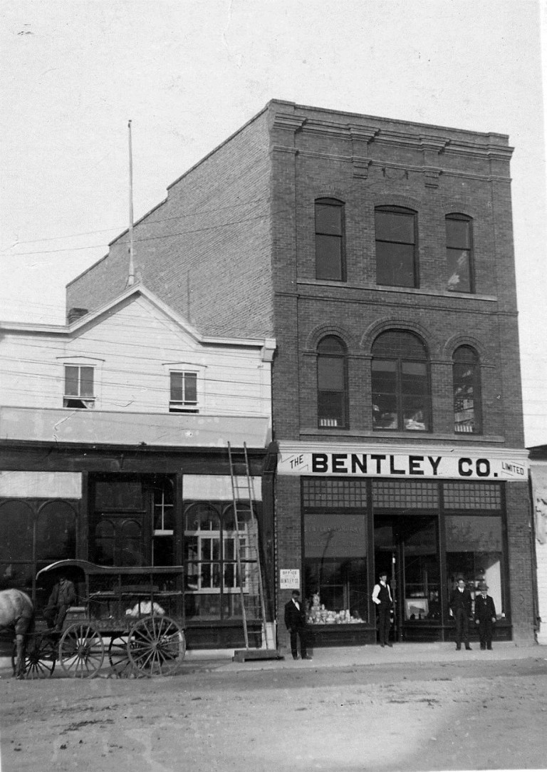 The Bentley Block, Lethbridge, Alberta, 1906