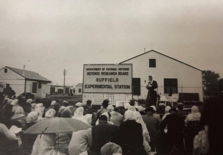 "Contemporary Doukhobors continue to be active in peace movements in Canada. In 1964, Doukhobors held a ""Manifestation for Peace"" at the Experimental Station for Chemical, Biological, and Radiological Weapons at Suffield Alberta."