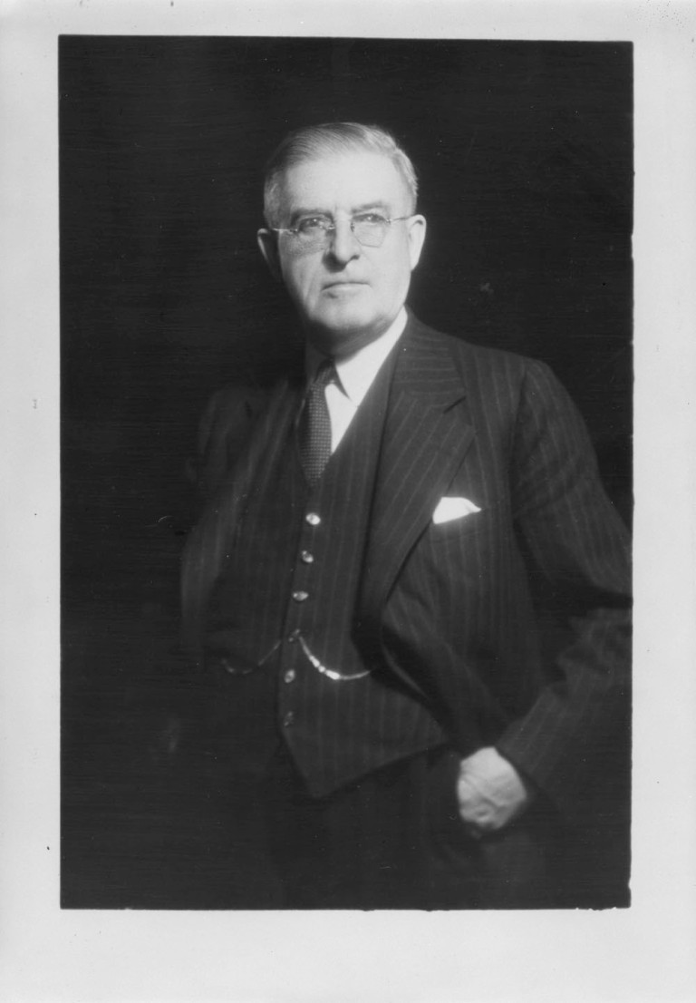 Senator William Ashbury Buchanan, ca. 1942-1948. Source: Library and Archives Canada, Arthur Roy fonds, PA-147107