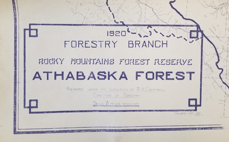 Fourteen patrol cabins would be built in the Athabasca Forest Reserve, including Hay River, Winter Creek, Polecat, Moberly Creek, Little Berland, Big Berland, Rock Lake, Eagle's Nest, Adams Creek, Muskeg River, A La Pêche, Grave Flats, Grand Cache and Mile 58. Most of these cabins were built in the 1920s. The cabins were built using the same materials and techniques and, although there was no standard plan, many of the cabins were essentially identical.