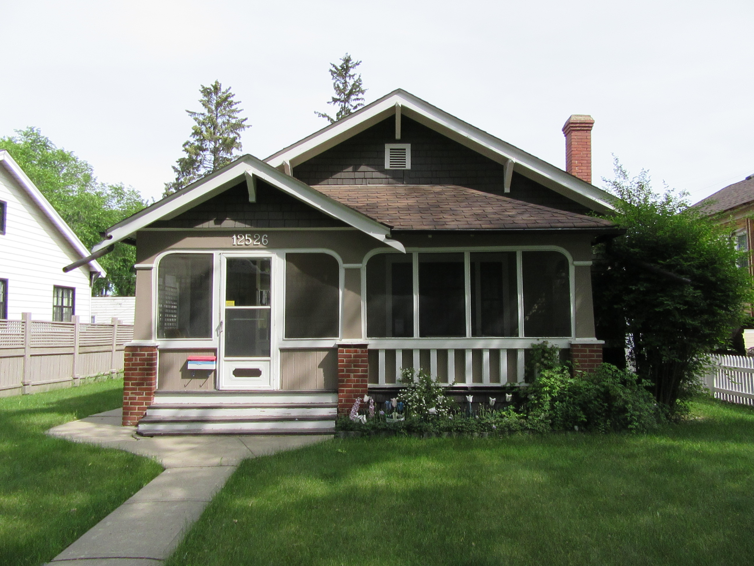 The house is located within the Westmount Architectural Heritage Area. Throughout history the neighbourhood of Westmount has retained a strong sense of architectural character, and is noted for its large collection of single detached homes, that were built between 1911 and 1925.